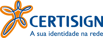 Link externo para o certificado digital. Certisign